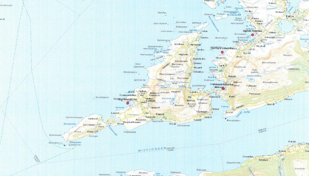 kart midsund Kart kaier   Molde og Romsdal Havn IKS kart midsund